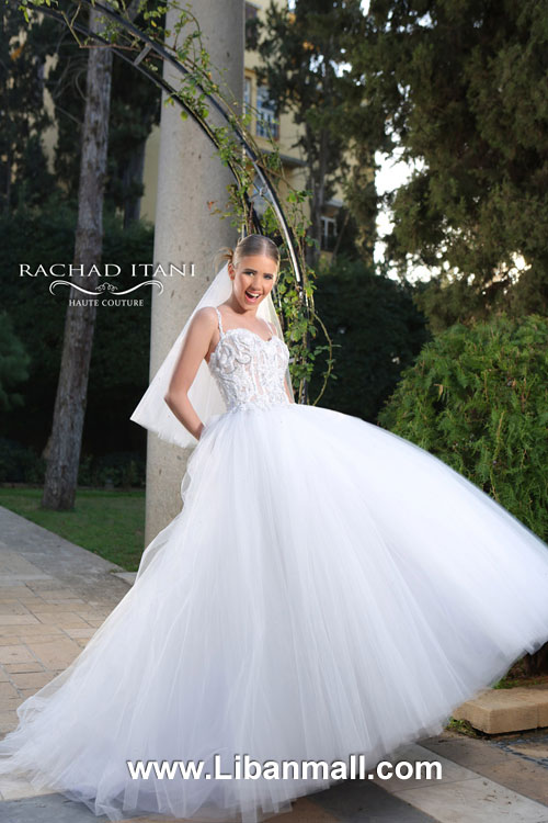 Rachad Itani Haute Couture, Wedding Dresses in Lebanon