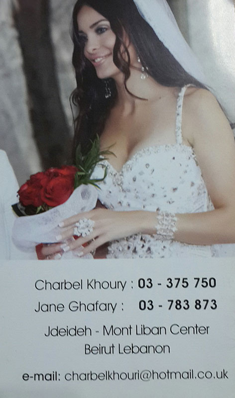 Charbel Khoury & Jane Ghafary, Beauty Center, Hair stylists, makeup artist, nail artists