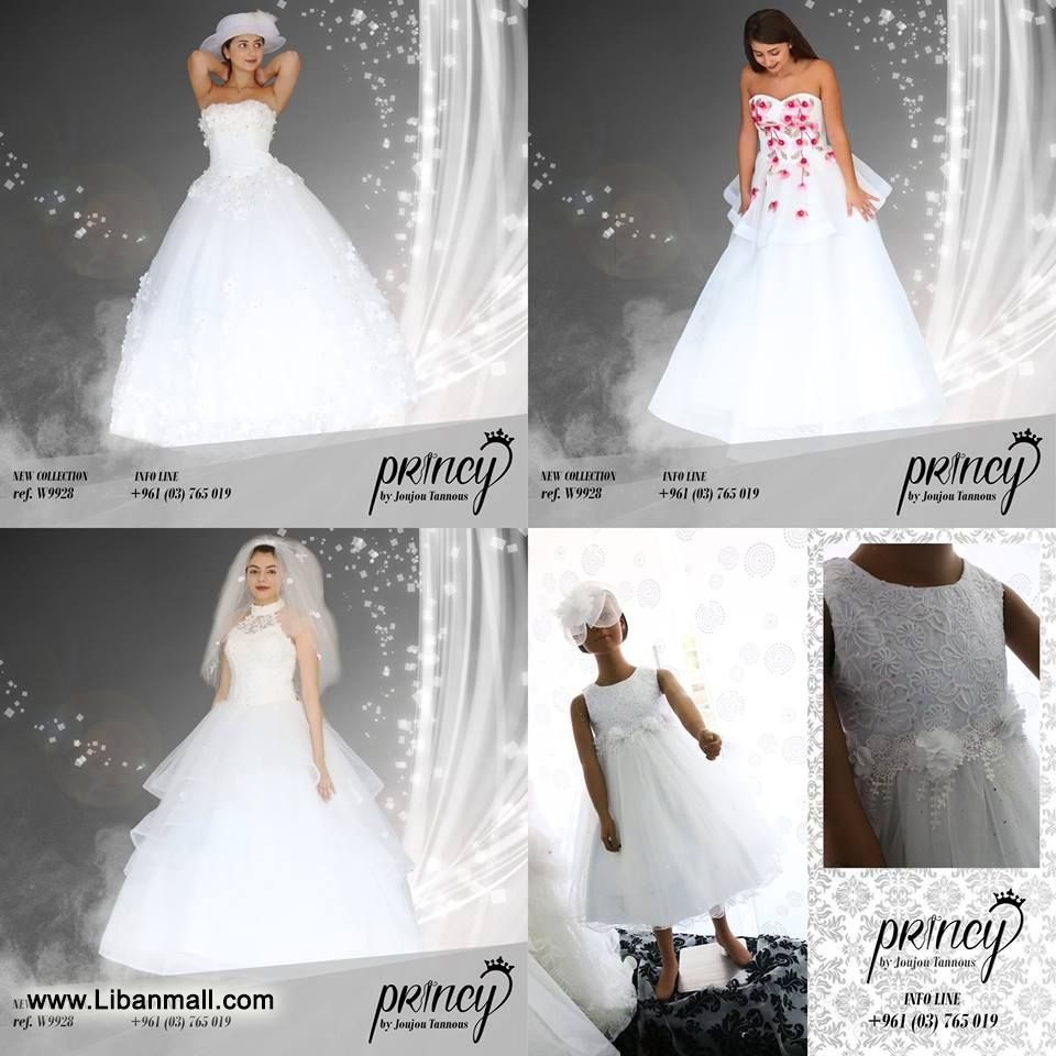 Princy by Joujou Tannous, boutique for women, wedding dresses, evening dresses