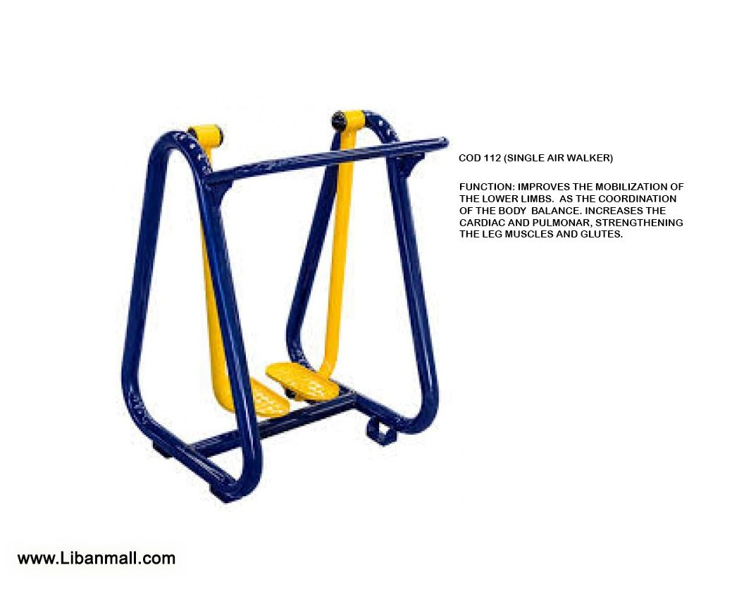 Ingenieria Saab, outdoor gym equipment distributor, SINGLE AIR WALKER