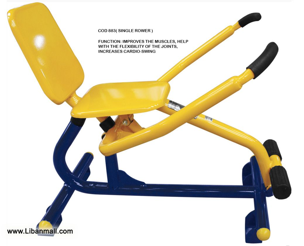 Ingenieria Saab, outdoor gym equipment distributor, SINGLE ROWER