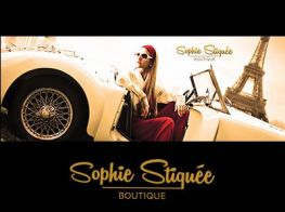 Sophie Stiquée Boutique, womens dresses, skirts, jackets, blouses, shoes, casual women's wear made in Turkey, quality women's wear made in France, trendy women's wear made in Italy