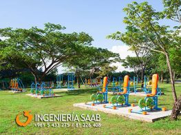 Ingenieria Saab, outdoor fitness equipment, outdoor gyms, wholesale gym equipment, distributor outdoor fitness