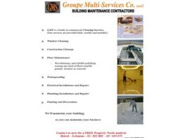 Groupe Multi Services Co. sarl, Lebanese construction companies