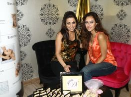 Donia Salame beauty lounge opening