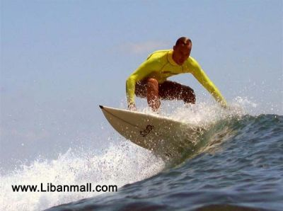 Surfing photos by Najy Cherabieh
