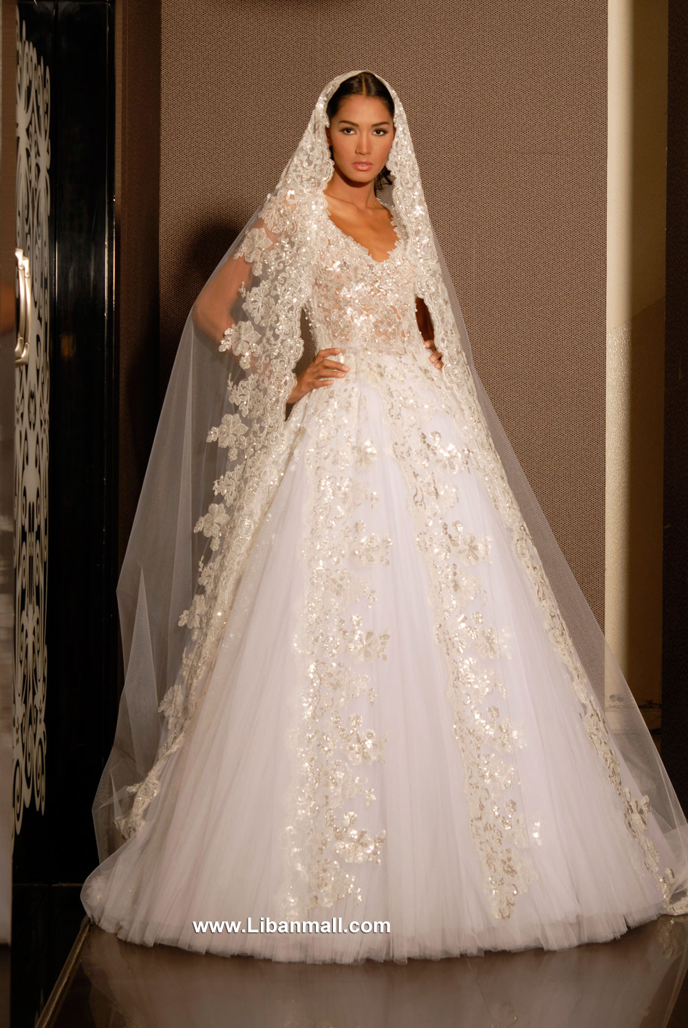 Wedding dresses lebanese designers wedding ideas for Lebanese wedding dress designers